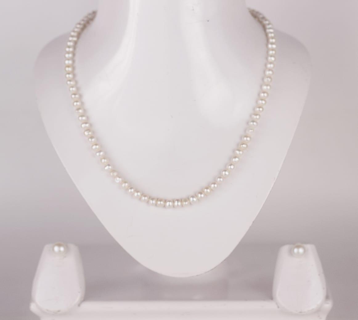 09f040e9e83e8 Simple Single Line Pearl Set